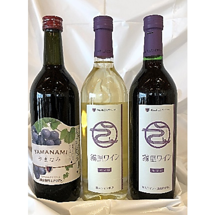 【ふるさと納税】RA9 霧里ワインとワイナリーオリジナルぶどうドリンクセットB【1P】