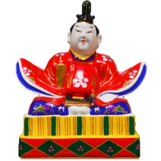 【ふるさと納税】RZ503 三次人形2番天神【5P】