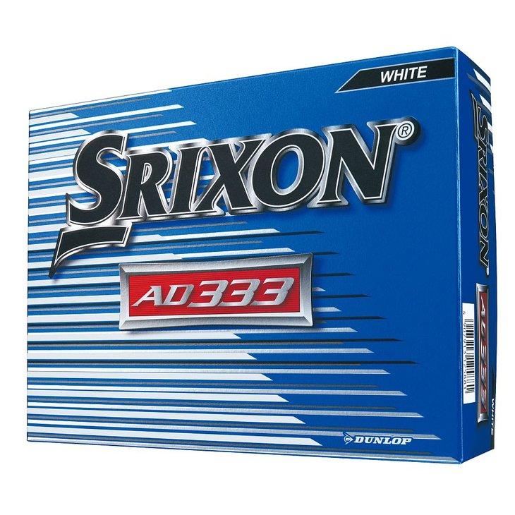 ダンロップ ゴルフボール スリクソン AD333 4ダース ホワイト