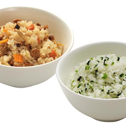 【ふるさと納税】マジックライス 五目ご飯&青菜ご飯 【惣菜】
