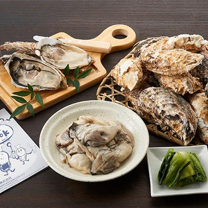 【ふるさと納税】広島産かき 贅沢セット 【魚介類・カキ】 お届け: 2019年12月中旬~2020年2月下旬