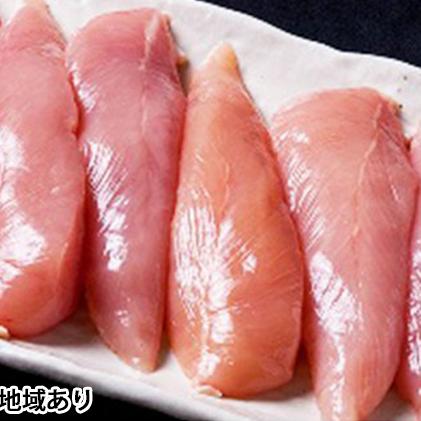 【ふるさと納税】★ささみ 6kg★広島熟成どり (冷蔵) 【肉/鶏肉/ササミ・とり肉・にく】