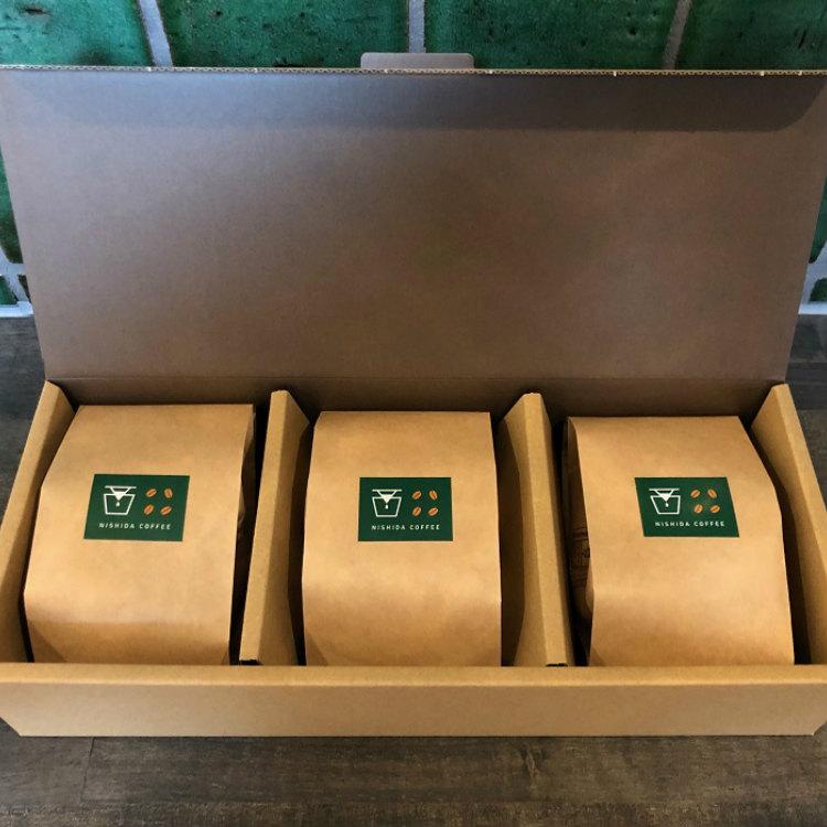 01D-057【ふるさと納税】コーヒー豆ブレンドセット