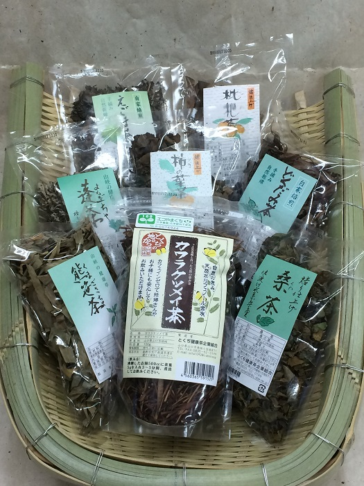 D-195【ふるさと納税】とくぢ健康茶生薬茶セット(ミニ)