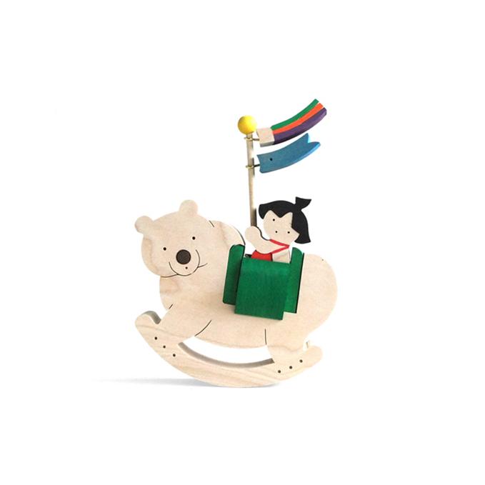 【山口県萩市】 【ふるさと納税】ゆりかごの金太郎坊や(熊) 【工芸品・玩具・おもちゃ】