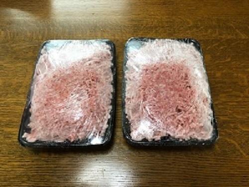 H1-145【ふるさと納税】パンを食べて育ったむつみ豚のミンチ