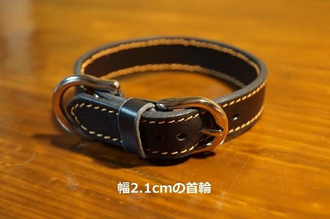 【ふるさと納税】D-143 犬用首輪(セミオーダー)