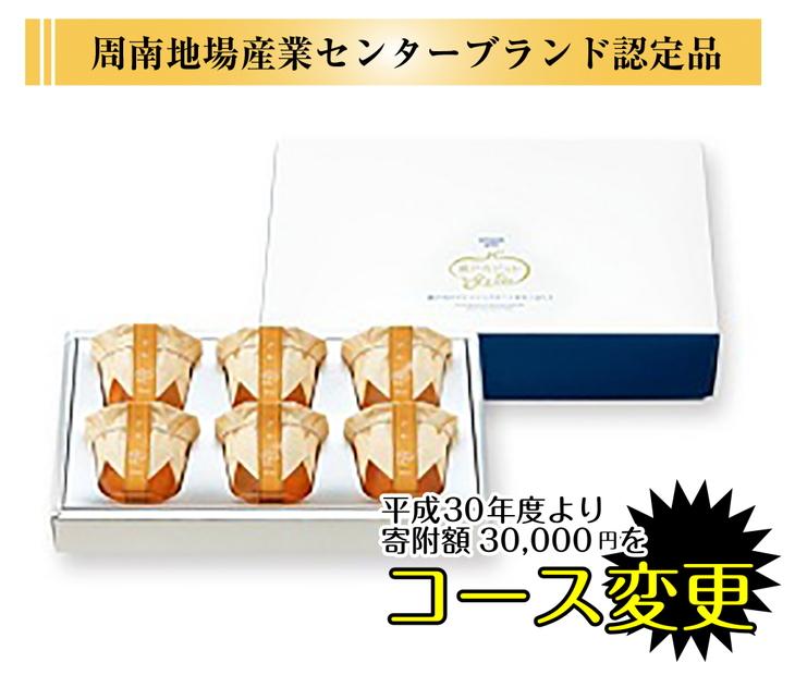 【ふるさと納税】瀬戸内産びわジュレ6個入◆ 2セット(E-16)