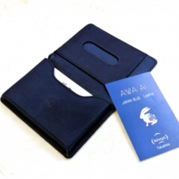 【ふるさと納税】D004a AWA AI 名刺入れ (name card case)