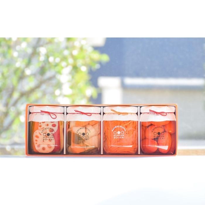 【ふるさと納税】3A003a 徳島ぴクルス(小瓶)×4本ギフト