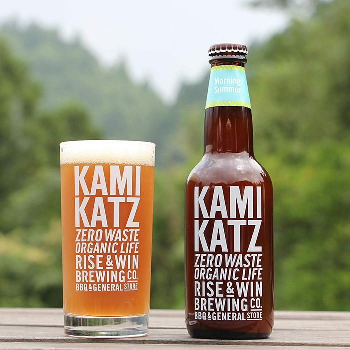 【ふるさと納税】カミカツビール モーニングサマー 2本とグラスセット