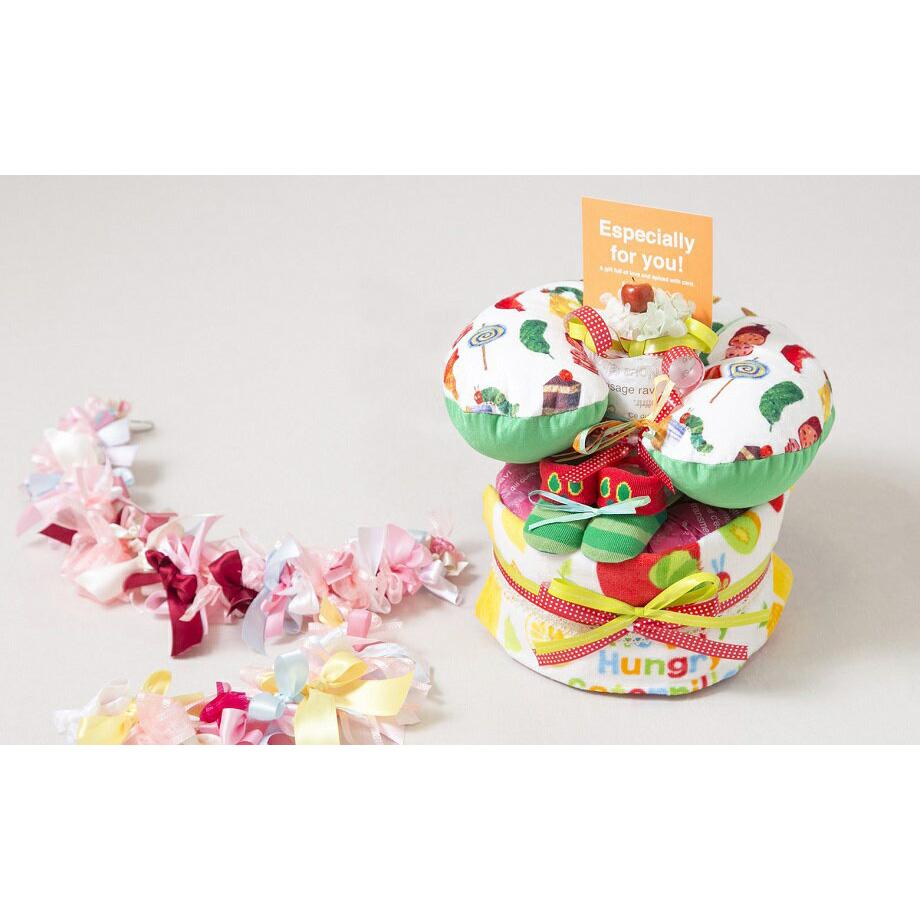 【ふるさと納税】030-018 おむつケーキ マルチピローセット
