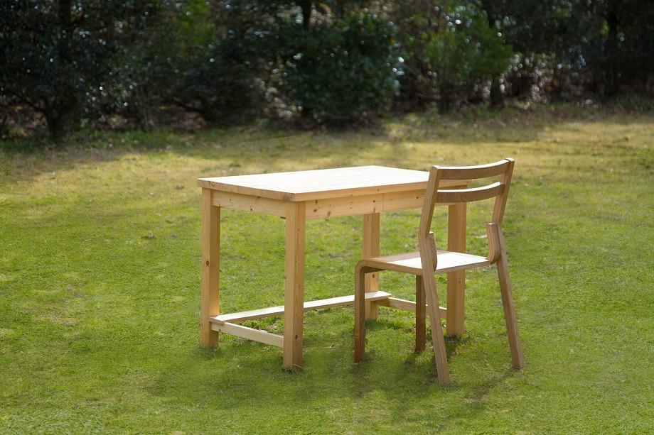 【ふるさと納税】350-002 学習机&椅子セット