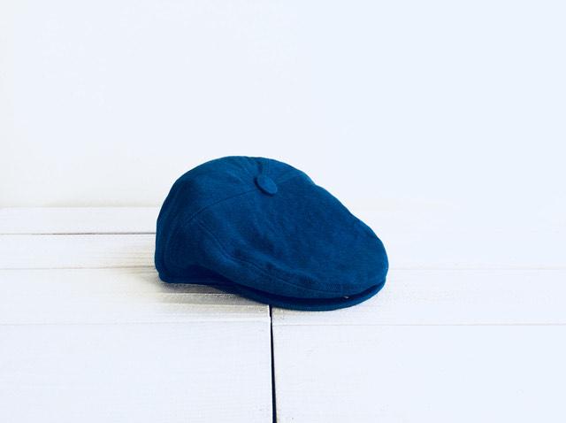 【ふるさと納税】IBB22 藍染ハンチング【伝統工芸】