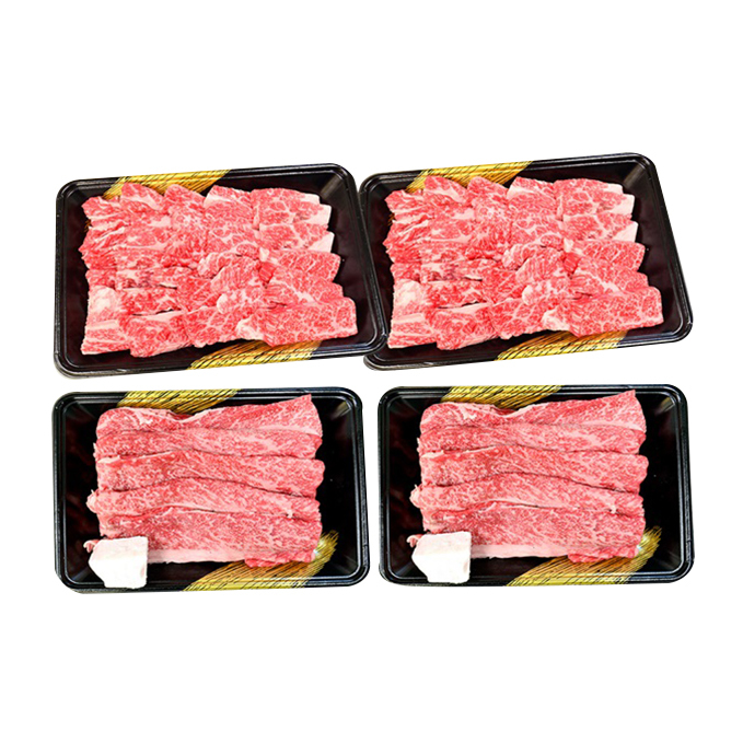 【ふるさと納税】オリーブ牛 すき焼き・焼肉セット 【お肉・牛肉・やきにく・すきやき】