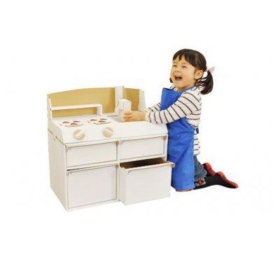 【ふるさと納税】ダンボールシステムキッチン 【雑貨・おもちゃ・玩具】