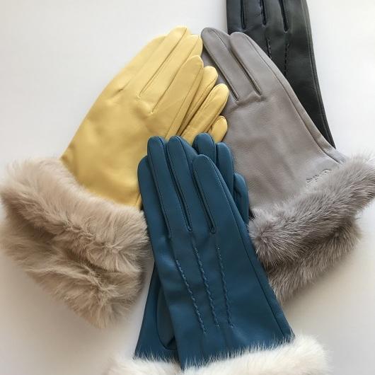 【ふるさと納税】手袋職人が作るあなただけのオーダー革手袋(ファー付き) 【ファッション小物・皮革・オーダーメイド・羊皮】