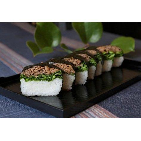 【ふるさと納税】東かがわ市発!オリーブ牛寿司(2本) 【肉の加工品・惣菜・牛肉・加工品・お寿司】