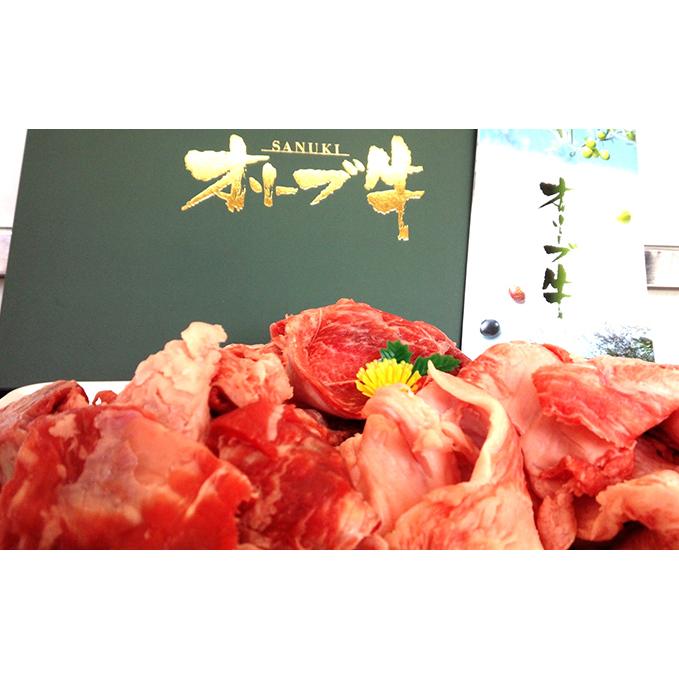 【ふるさと納税】国産黒毛和牛 オリーブ牛のすじ肉3kg!!(ご自宅用)  【スネ・牛肉・お肉】