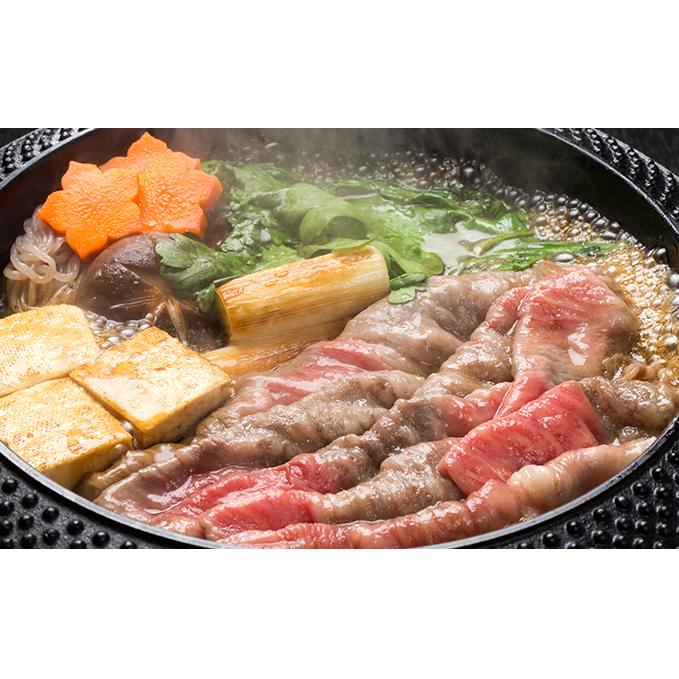 【ふるさと納税】小豆島オリーブ牛肩ロースすき焼き 【牛肉・お肉・ロース】