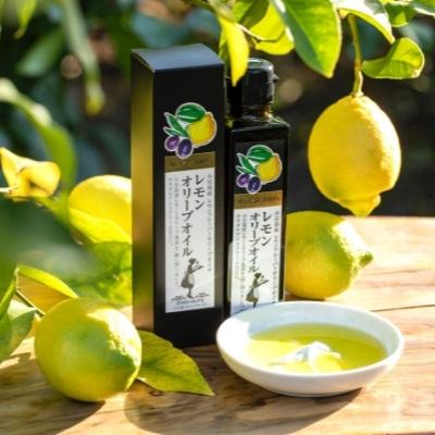 【ふるさと納税】小豆島産レモンオリーブオイル136g 【調味料・食用油・レモン】 お届け:2020年1月上旬~
