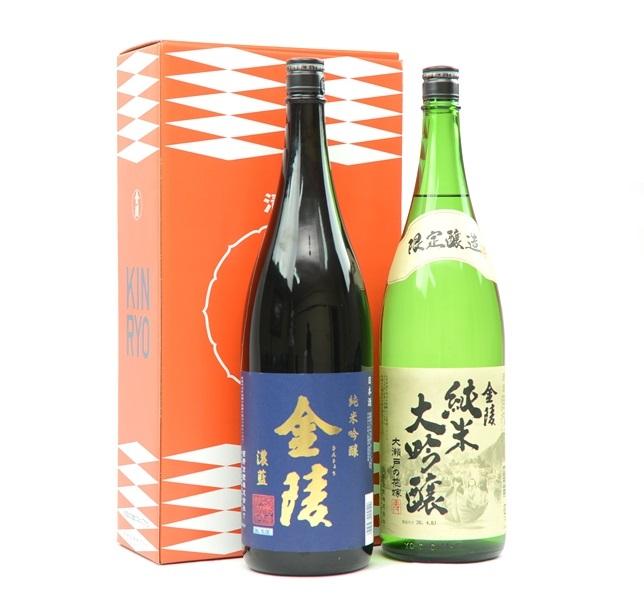 【ふるさと納税】金陵 純米吟醸・純米大吟醸詰合せ