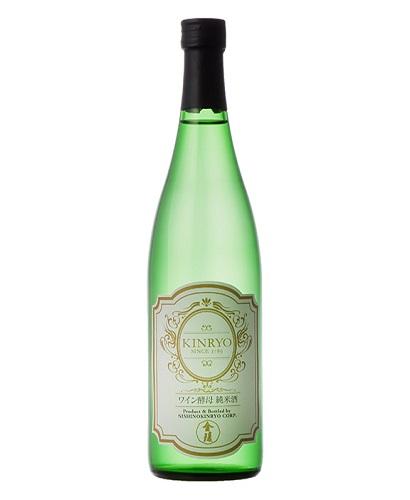 【ふるさと納税】金陵ワイン酵母 純米酒 720ml 2本セット(提供:西野金陵株式会社)