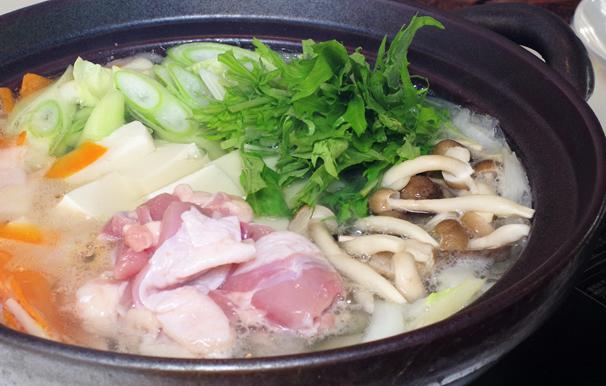 【ふるさと納税】米ヶ岡鶏鍋セット(奈半利町) 鍋セット