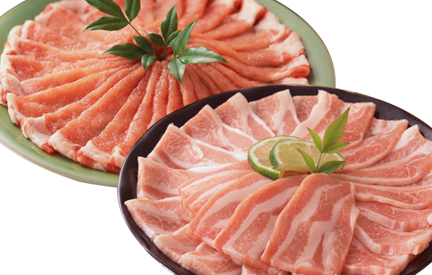 【ふるさと納税】美鮮豚、焼肉・しゃぶしゃぶセット(高知市) 精肉