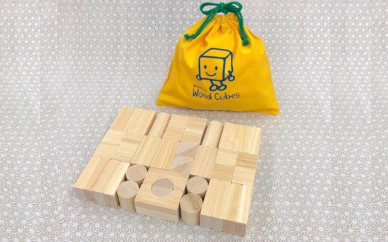 【ふるさと納税】四万十ヒノキ材積み木(高知市) 工芸品