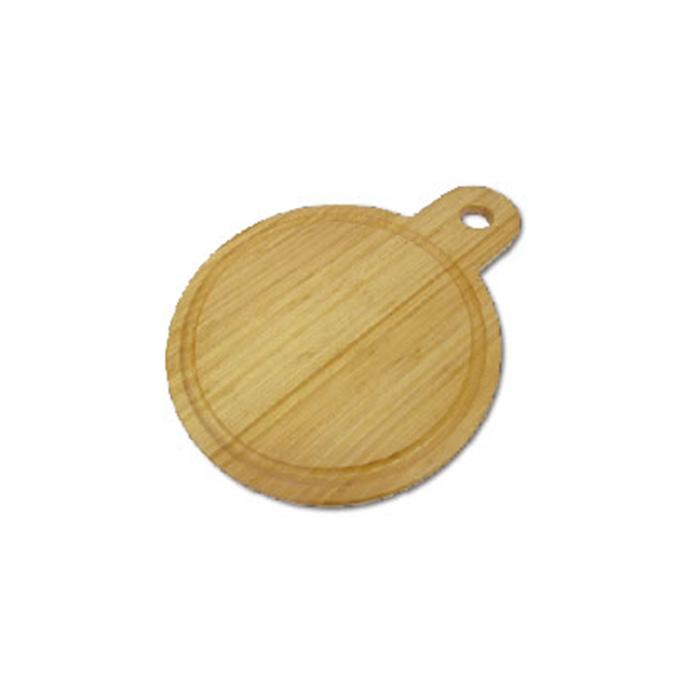 【ふるさと納税】高知県産 竹集成材製 サービングボード 丸