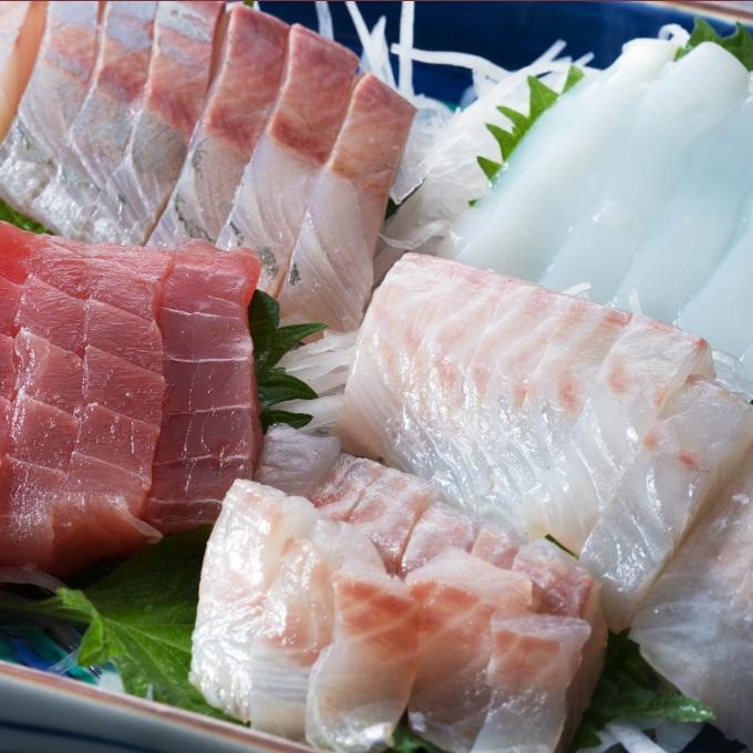 【ふるさと納税】RK010おさしみセット【3~5品】<魚 鮮魚 刺身 鯛 その他 送料無料>
