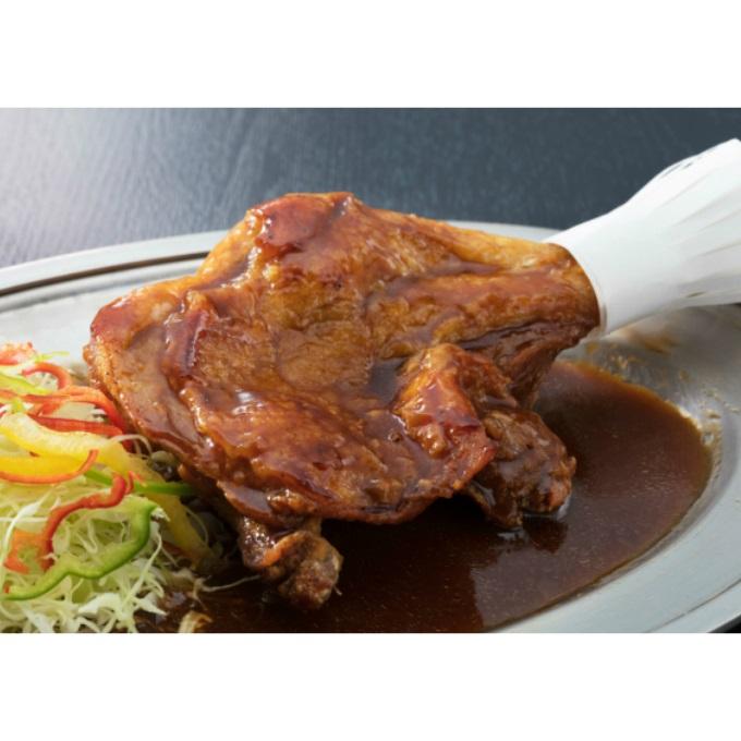 【ふるさと納税】HN004初音の鶏もも肉のたれ焼き【4本】<肉 鶏肉 もも肉 焼き鳥 たれ 送料無料>