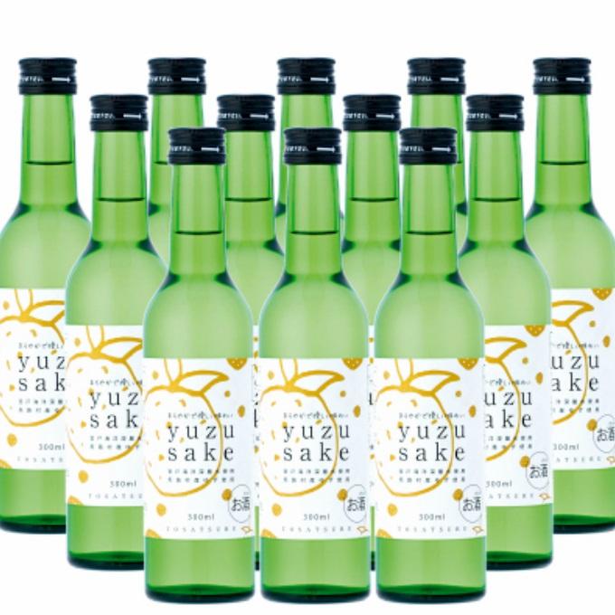 ほんのり甘く ほんのり爽やか ふるさと納税 yuzu 倉 最新アイテム ゆず酒 OK031 sake 300ml×12本送料無料