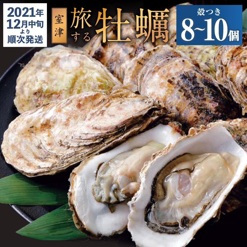 【ふるさと納税】AK012殻付き牡蠣旅する牡蠣プレミアムオイスター室戸海洋深層水坂越8〜10個入り