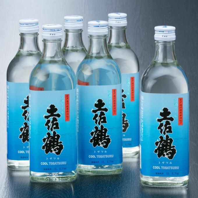 【ふるさと納税】NM011I9土佐鶴冷酒クール【6本セット】