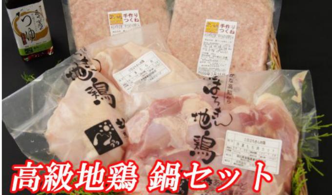 【ふるさと納税】はちきん地鶏¨冬の鍋¨セット 鶏肉 もも肉 胸肉 つくね 鍋セット 送料無料 <AG013>