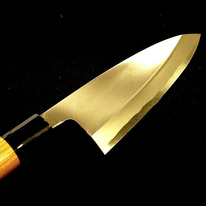 【ふるさと納税】四百年の伝統技法、日本三大刃物 出刃包丁(16.5cm)白紙二号