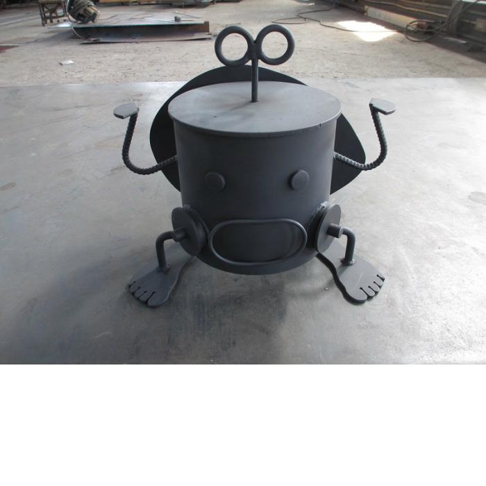 【ふるさと納税】【AL-2】ロボット型七輪 しち丸