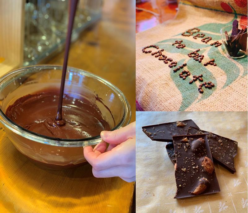 【ふるさと納税】【B-88】 ローストアーモンドチョコレート 2枚セット
