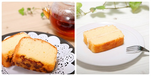 【ふるさと納税】【B-34】ポミエのブランデーケーキとショコラブランのセット