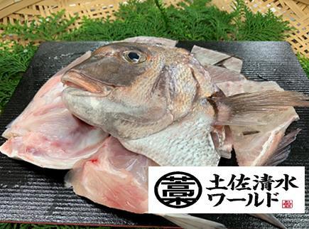 【ふるさと納税】【O-7】足摺めぐみ鯛 活〆3枚卸(冷凍)