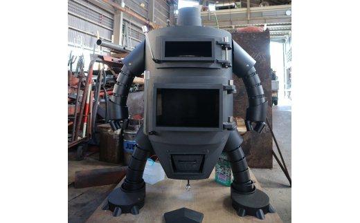 【ふるさと納税】【 BA-1】ロボット型薪ストーブ