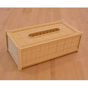 【ふるさと納税】19-166.四国産竹使用 ティッシュBOX