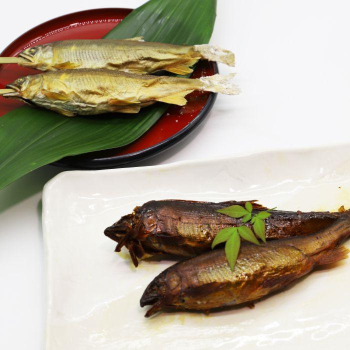 <BR>【ふるさと納税】田渕さんの子持ち鮎食べ比べセット<BR>【送料無料】 ラッピング のし