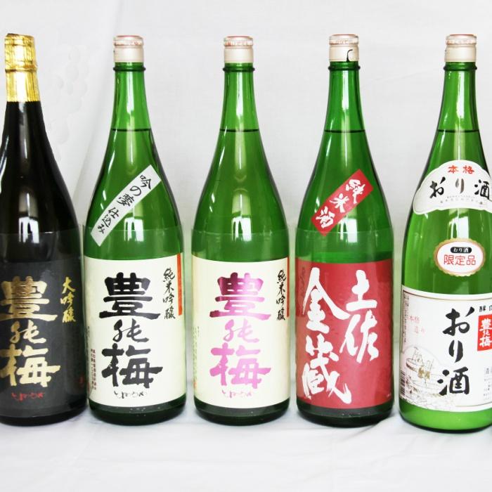 M-7 豊能梅セット1800ml×6本【送料無料】お酒 【ふるさと納税】6種類の日本酒飲み比べ