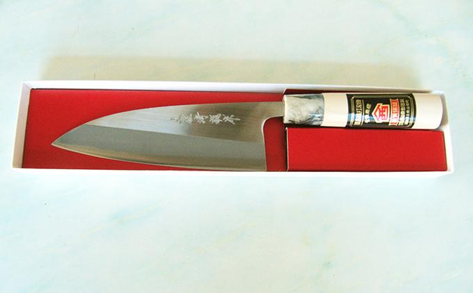 【ふるさと納税】万能包丁 磨舟行16.5cm 【雑貨・キッチン用品/包丁】