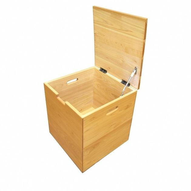 【ふるさと納税】万能 木製ぼっくすボックスBOX 【インテリア・椅子】