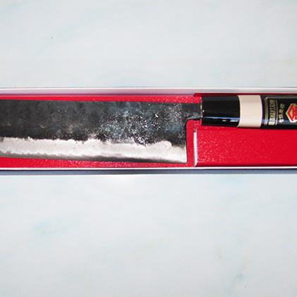 高知県香美市 ふるさと納税 包丁黒打菜切 売れ筋 供え キッチン用品 16.5cm 包丁