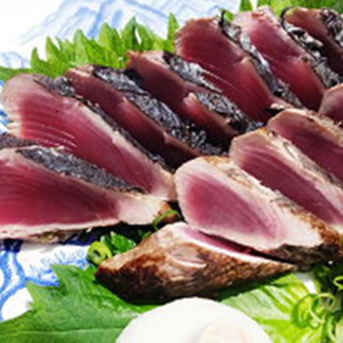 【ふるさと納税】本カツオわら焼きたたきセット(2フサ)500~600g 【魚貝類・鰹】